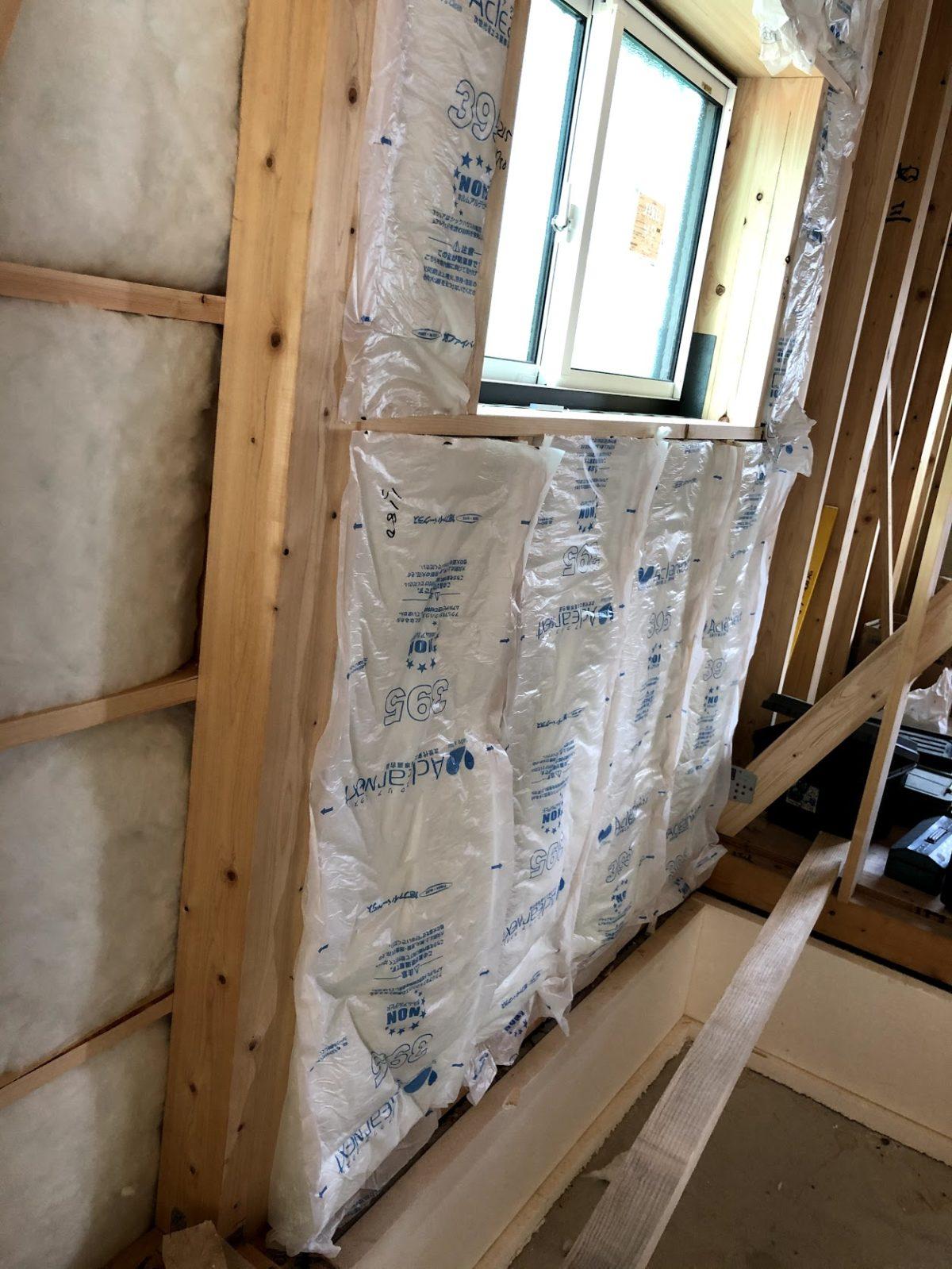 断熱材の施工方法