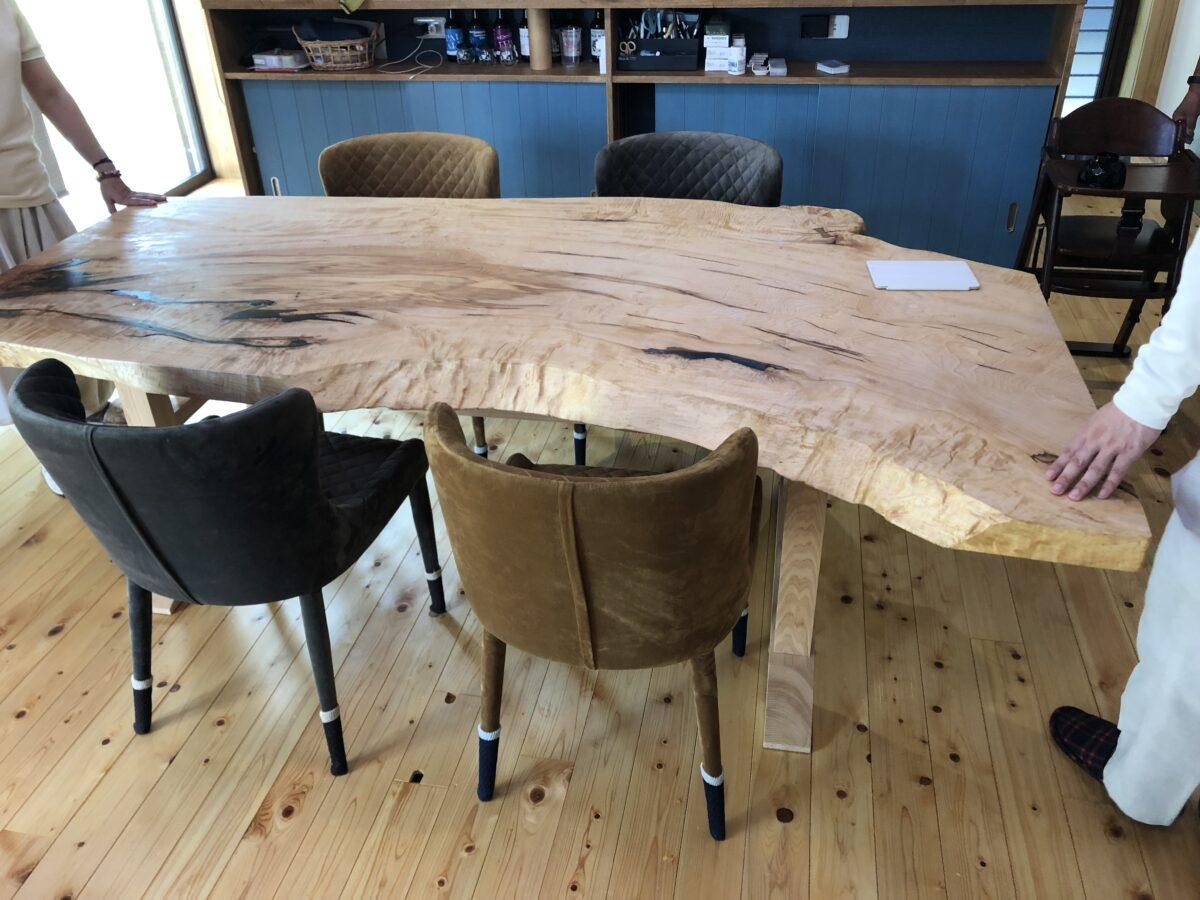 見習い大工のダイニングテーブル作り!